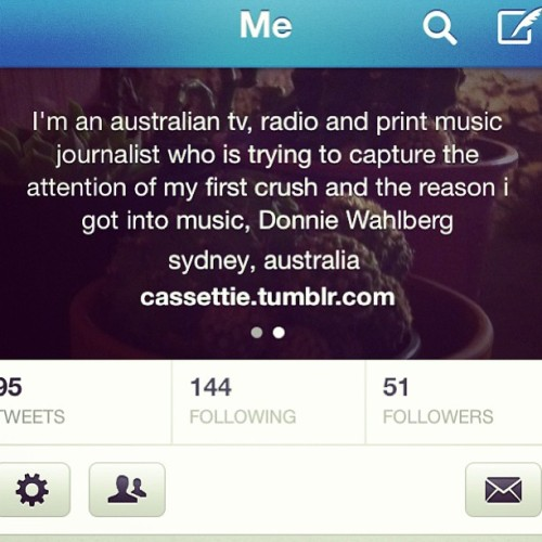 And I added my #twitter bio. What y'all think?! #ihatetwitter #instaforlyf #donnie #donniewahlberg #donnieiloveyou #nkotb #newkidsontheblock #music #personal #lol