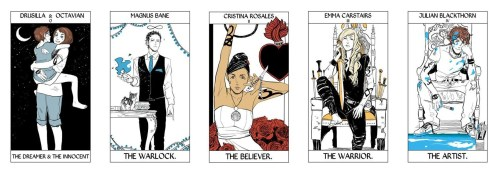 nevertrustaduck:  Shadowhunter Tarots: Major Arcana Full Set By Cassandra Jean (x)