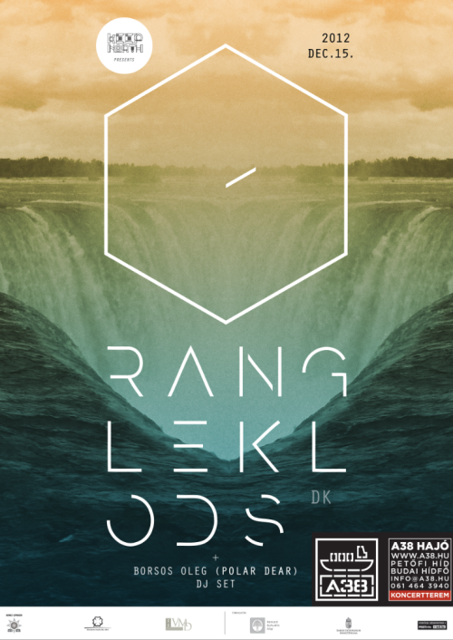 A38 + KeepNorth pres: Rangleklods (DK) Oleg Borsos DJset (H) Budapest, 15th december 2012 see more: https://www.facebook.com/events/443288435720810/                https://www.facebook.com/keepnorth