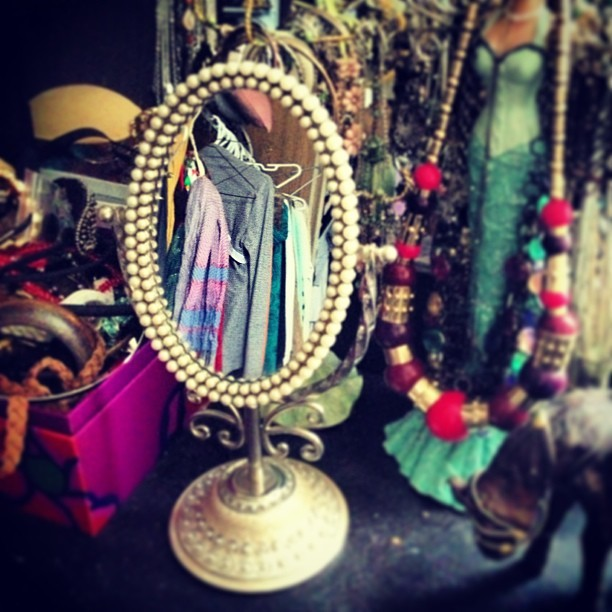 Found a cute mirror at a #pawnshop #halifax