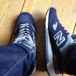 At last I have new balance sneaks. 😍