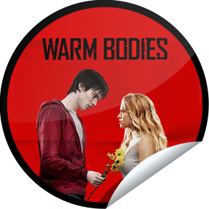 I just unlocked the Warm Bodies Box Office sticker on GetGlue                      8938 others have also unlocked the Warm Bodies Box Office sticker on GetGlue.com                  This isn't an ordinary rom-com. It's a zom-rom-com with a lot of heart and even more edge. Thank you for seeing Warm Bodies in theaters.  Share this one proudly. It's from our friends at Summit Entertainment.