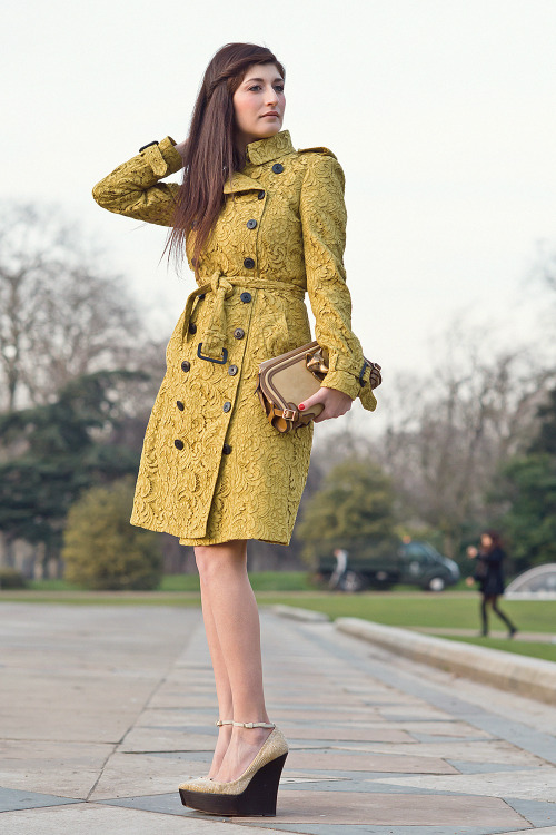 lordashbury:  Burberry.Hyde Park, London. http://lordashbury.com/burberry/