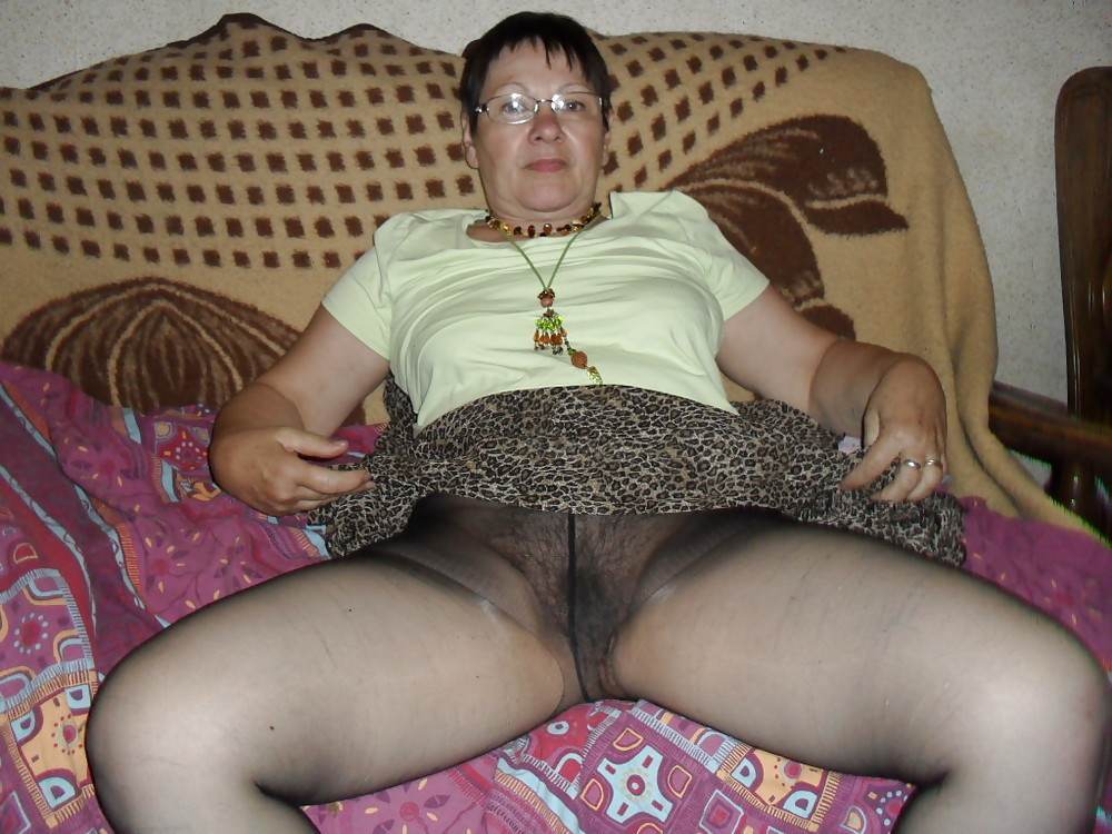 Awesome granny pussy too much