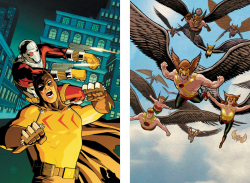 Secret Six #30  |  Hawkman Companion Cover