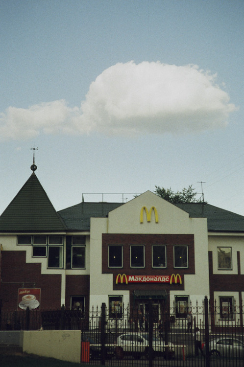 Cloud over McDonalds Aug 2011