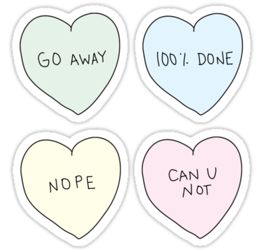 Sassy Heart Sticker pack (also available as shirts, iphone/ipod/ipad cases, and prints!) | Shop here