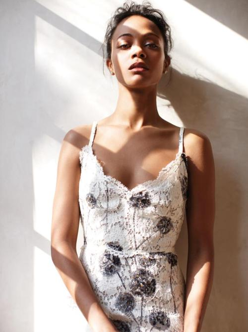 suicideblonde:  Zoe Saldana - C California Style Magazine, May 2013