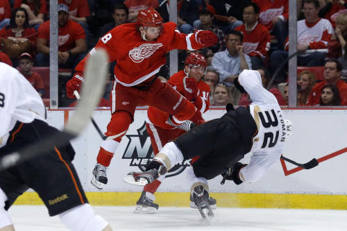 Abdelkader was given a major for his hit on Lydman