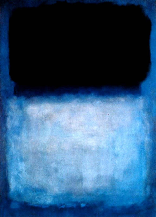 atavus: Mark Rothko - Green over Blue, 1956