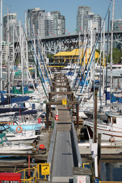 Granville Island Docks (by Kevin Krebs)