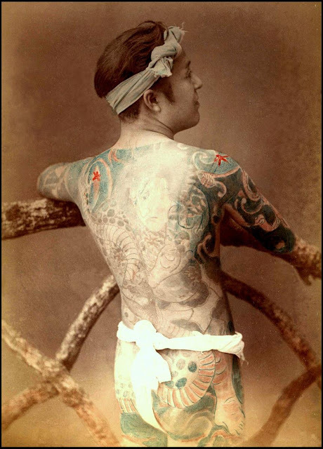 World of Old Japanese Tattoos, circa late 1880s
