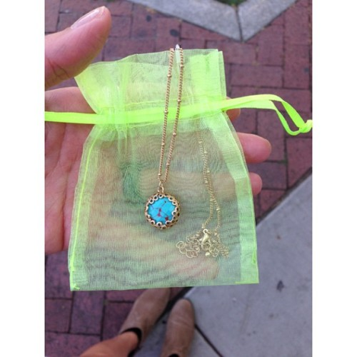 New gem. #jewelry   (at The Little Dress Shop)