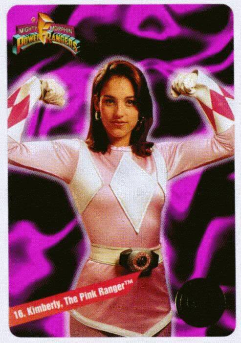 ninetiesblog:  Kimberley the Pink Power Ranger  Power Rangers, looking back, is such a bonkers concept. But she'll always be one of my first girl role models (& still kinda is)!