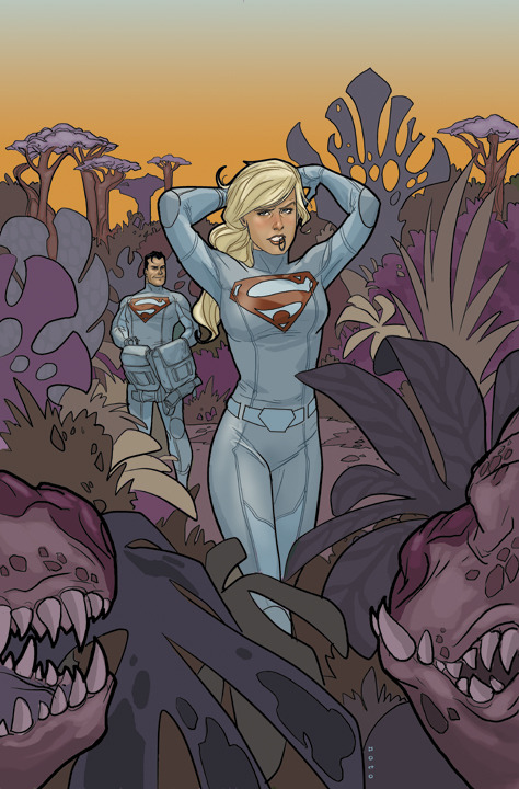 philnoto:  Superman/Supergirl : Maelstrom #2 cover