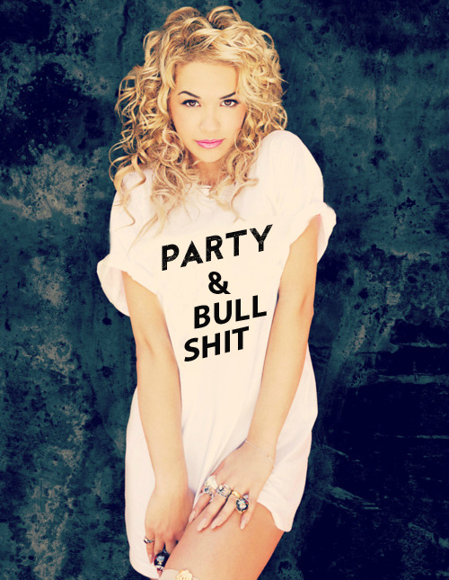 ultimatebeauties:  GET THE PARTY & BULLSHIT TEE→ every item you order from the ultimatebeauties fashion collection, gives you a free weeks worth of advertisement for your blog/website (bonus: gain lot's of followers) learn more→