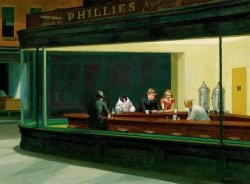 Edward Hopper's NightIkeaMonkey