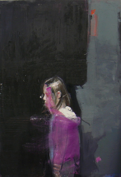 darksilenceinsuburbia:  Christos Tsimaris. By the Window. Oil on canvas.