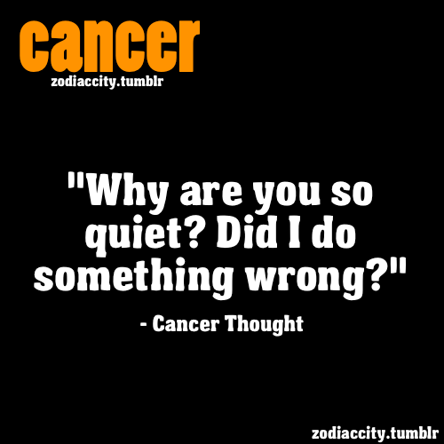 Cancer Thought.