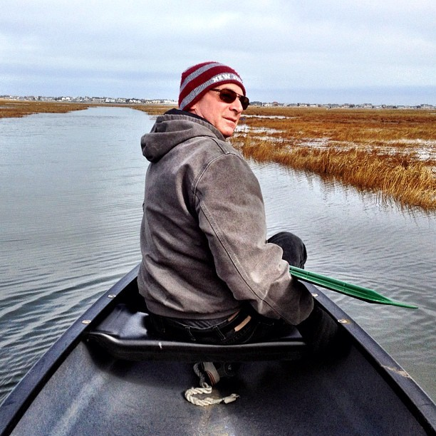 Canoeing #BarnegatBay #brick #NJ (at Havens Cove)