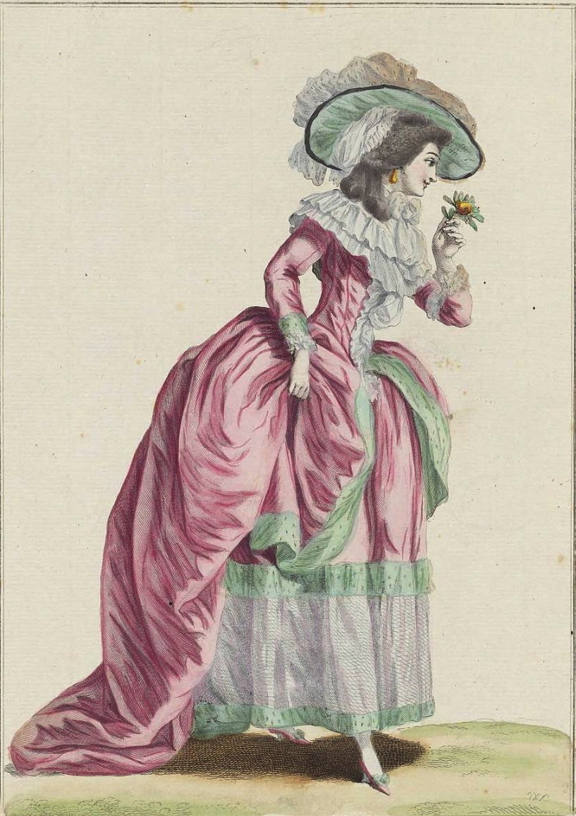 jailagracedunearchiduchesse:  Fashions of 1784