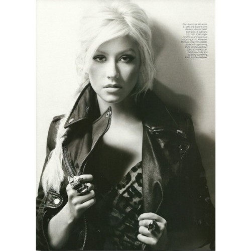 INSTYLE UK: Christina Aguilera by Photographer Nino Muñoz - Image…   ❤ liked on Polyvore