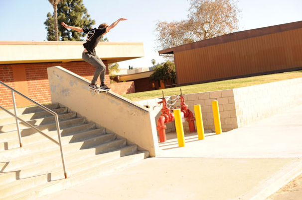 Joey Switch Tailing the F outta this thing in thrasher's 5 Sequences