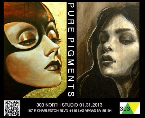 Tomorrow night I'll be in the gallery for a bit for Preview Thursday!  Come down and check out the show, beat the First Friday crowds, and enjoy some artwork by some amazing artists. I'm looking forward to seeing the show myself!