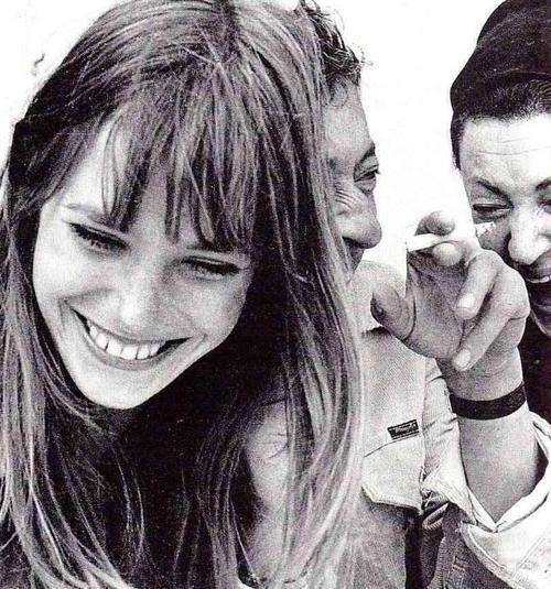 thefashionindustrycult:  Jane Birkin and Serge Gainsbourg