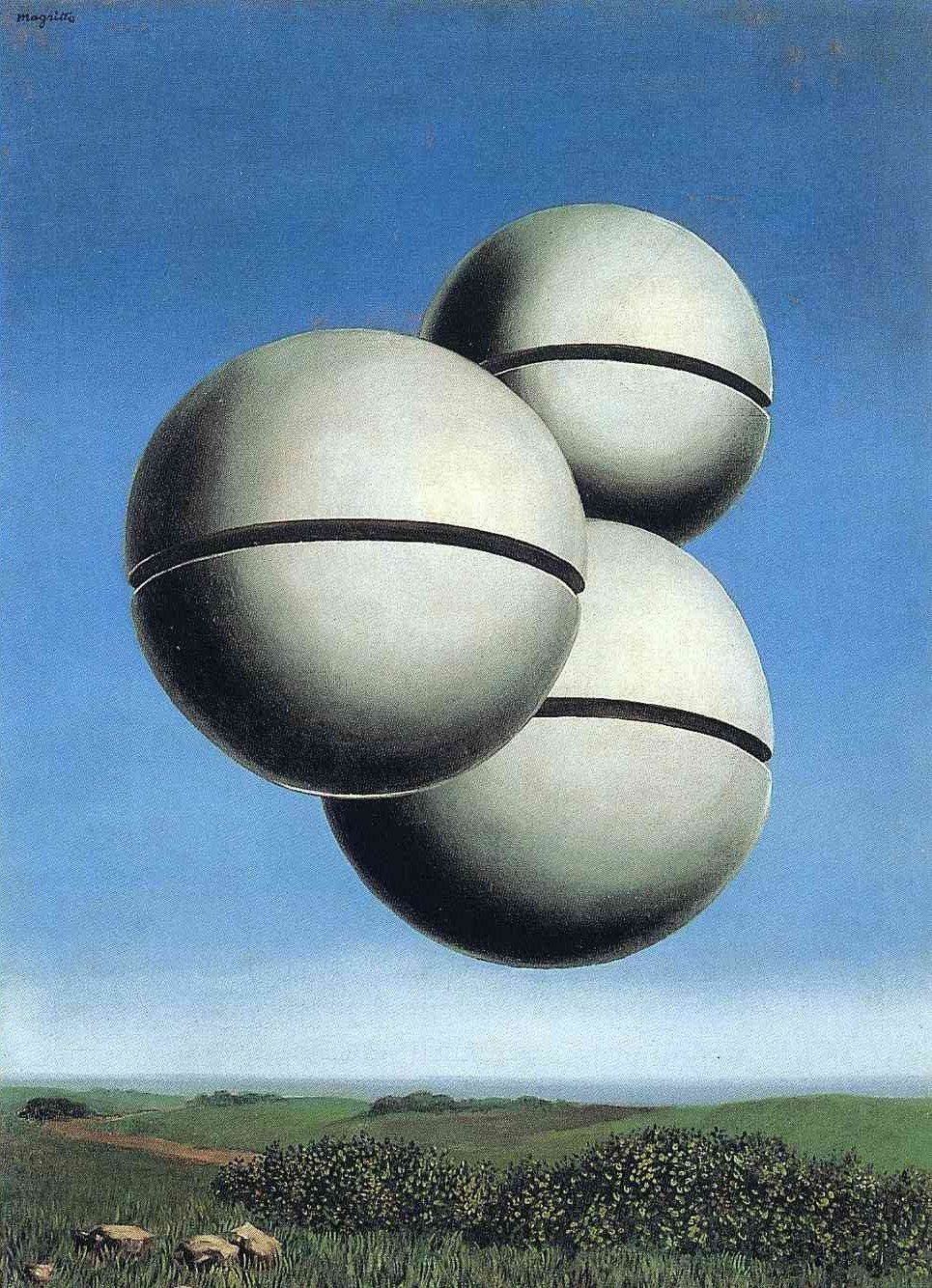 """Voice of Space,"" 1931, by René Magritte"