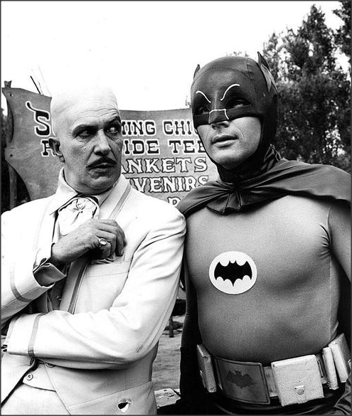 1950sunlimited:  The Egghead and The Batman, c.1966
