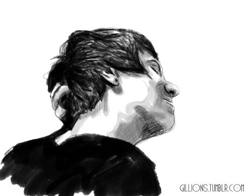 gillions:   Another Quick Sketch of Dan.  -Gillian