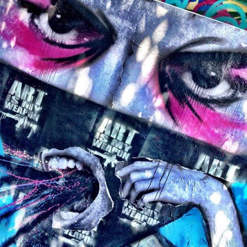 NYC Street Artist goes Mad in the streets of Miami #graffiti #streetart #artismyweapon