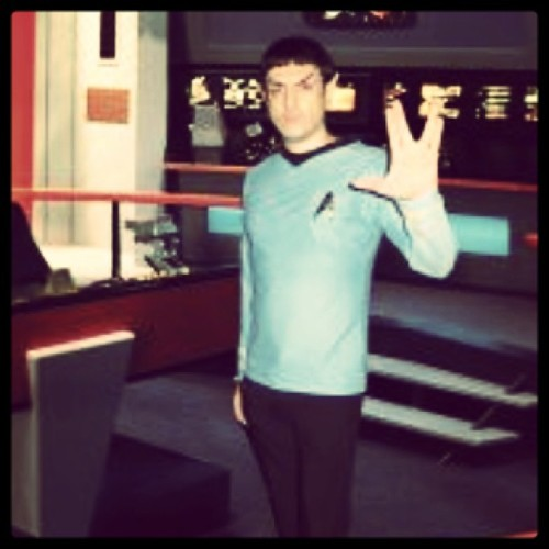 Happy New Year and Live long & prosper - #spock #cosplay #startrek #1701jp #2013 #llap #enterprise #tos #trekkie #スポック #スタートレック filter: #brannan