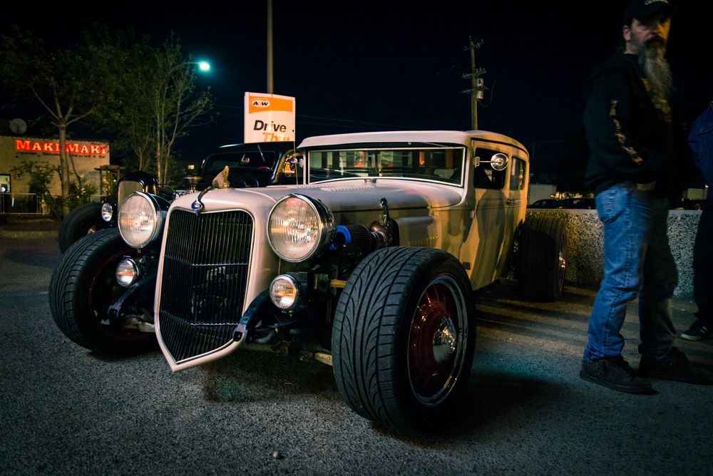thisisnotmybeautifulhouse:  this hot rod was crazy apparently it's a 2006 Pontiac Solstice with a Ford Model A body on top super tight build Nikon D600, Nikkor 24-85 f/3.5-4.5, ambient