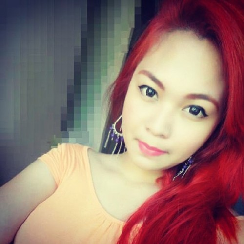 Mikay my Korean bestie! #loveher #red #hair #filipina #korean #davao #bbf #gff #bff
