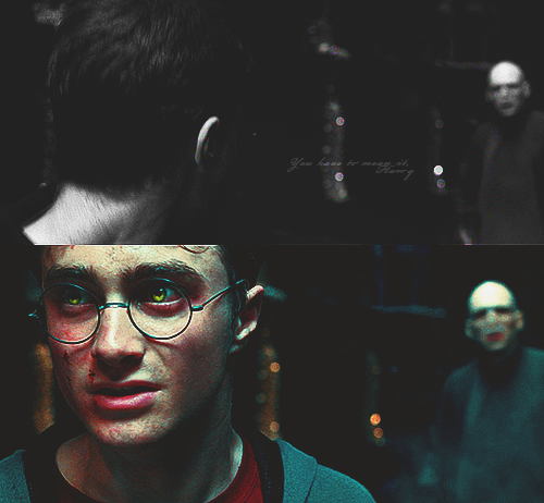 """You have to mean it, Harry. You know the spell."""
