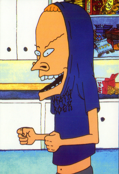 andr0id16:  I am the great Cornholio