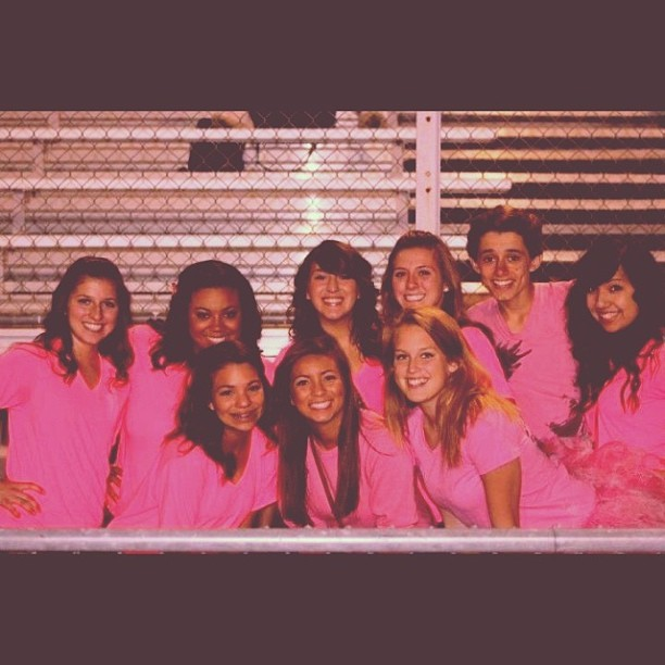 #tbt 2011 away football game. #myfriends #wewearpink we were cool Juniors… Lol @mikayyyy @karlicameli @marissaaao @baileywilson32 @emi_aparicio @itsmemariahc @kapricameli2 love you guys 😘💗🏈