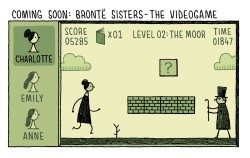 theparisreview:  In celebration of Tom Gauld's new book of cartoons, You're All Just Jealous of My Jetpack, available tomorrow, we'll be featuring excerpts all week!