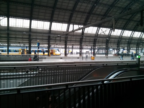 Photo of Amsterdam Central Station. I was in a picture-taking mood.