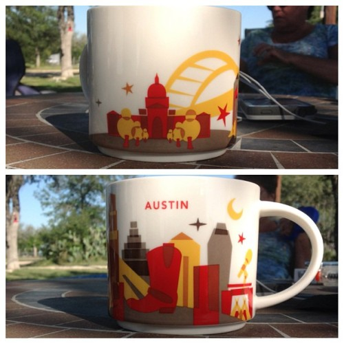 zanekeith:  Got the NEW Austin City Mug #starbucks #citymug #austin #texas #tobeapartner