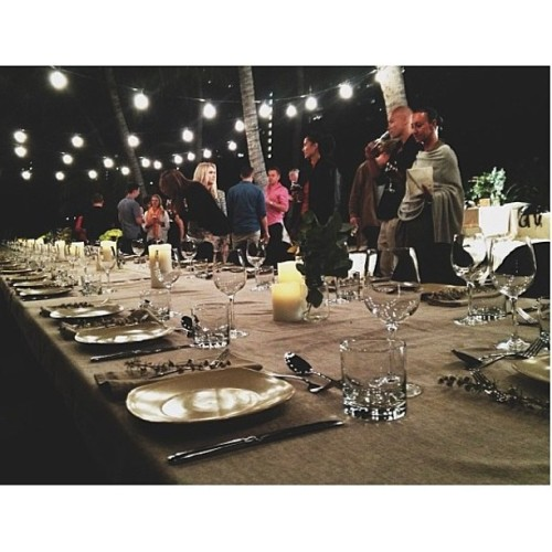 Repost by @luisabrimble.  Tabletop details. Prep-a-Party #inspiration with thanks to @stefanierobiningram and Hamilton Island Conventions. #stunning #beachBBQ #return2paradise  (at Catseye Beach, Hamilton Island, QLD, Australia)