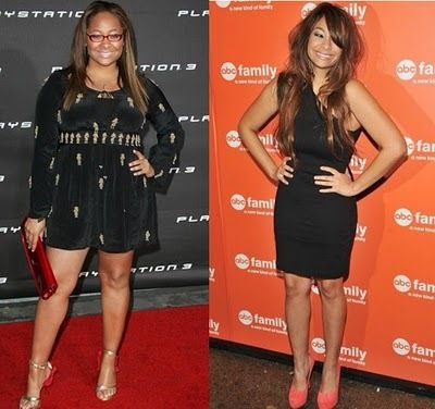 She went from raven to Nicole Richie! yikes!