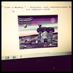 Raikinas Like A Monkey #band #blog #igers #indie #crossover #sardegna #recensioni #rock