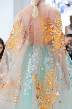 fashion detail fashion show Delpozo Spring/Summer 2015 S/S 2015 2015 Spring/Summer