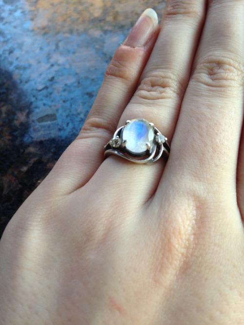 diamond engagement ring on Tumblr   Unique Engagement Rings Tumblr