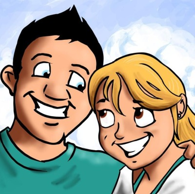 Check out my new avatar! My amazing fiance, Matt, created this of the two of us and I just love it. Pizza and Pilates is all about life balance, health, and FUN - this encapsulates all of that. Hope you like it too!