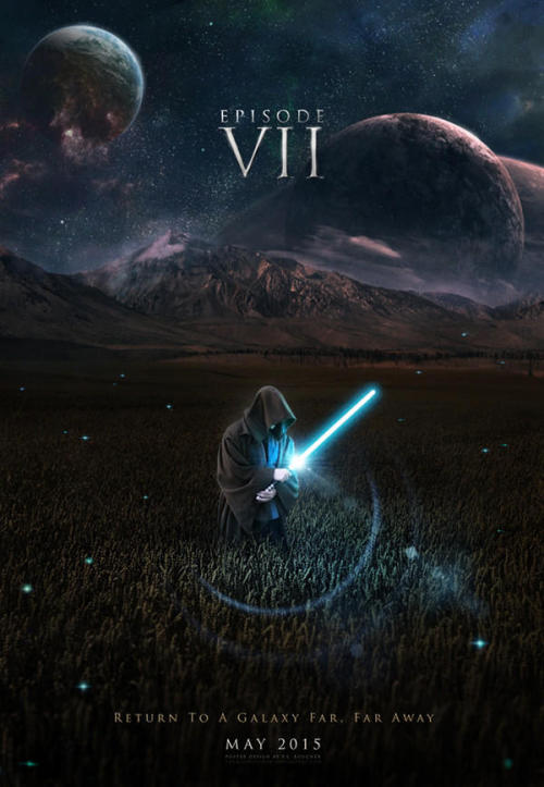 geekmythology:  Nine ridiculously awesome fan-made posters for Star Wars Episode 7.  Seriously, Hollywood, find whoever made these posters and commission them for the real movie in a year and a bit's time. via Comic Book News.