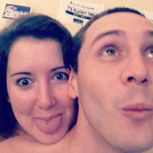 We are SO #WEIRD! #abnormal #may #mayphotoaday #photoaday #photoadaychallenge #day20 #daytwenty #abnormal #weird #odd #boyfriend #love #tongue #tonguering #excited #thisiswhywearetogether #ohgosh #icantevenhandleus
